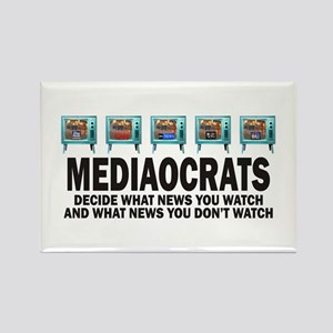 Mediacrats Rectangle Magnet