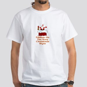 Christmas Fiddler on the Roof T-Shirt
