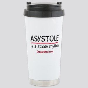 Asystole 2 Stainless Steel Travel Mug