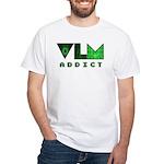 VLM Addict - White T-Shirt
