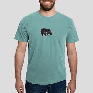 I Love Hippos Cute Hippo Funny Hippopotamu T-Shirt