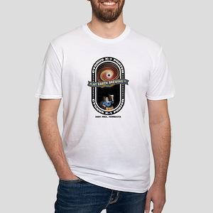 Flat Earth Cygnus X-1 Fitted T-Shirt