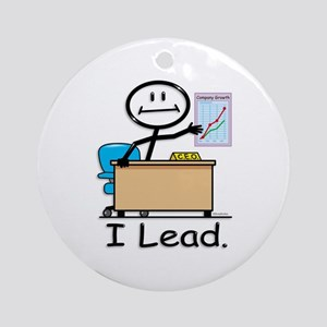 Company CEO Ornament (Round)