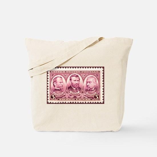 Gen's Sherman, US Grant and P Tote Bag