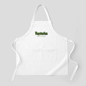 Vegetarian and loving it BBQ Apron