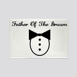 Father of the Groom Rectangle Magnet