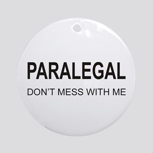 Paralegal Ornament (Round)
