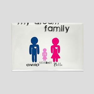 My Dream Familyy Rectangle Magnet