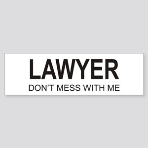 Lawyer Bumper Sticker