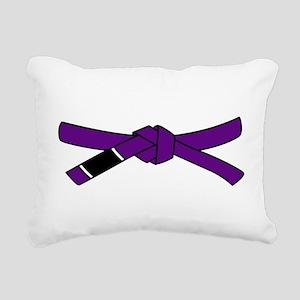brazilian jiu jitsu T Sh Rectangular Canvas Pillow