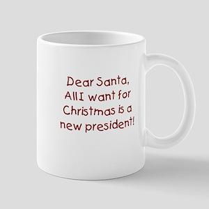 Anti-Bush Dear Santa Mug