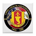 Saints of Service OIF Tile Coaster
