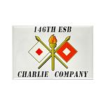 146th ESB Charlie Co Rectangle Magnet