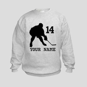 Custom Hockey Player Gift Hoodie Sweatshirt