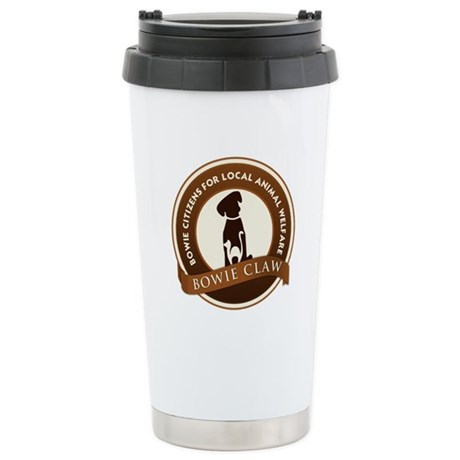 CLAW Logo Stainless Steel Travel Mug