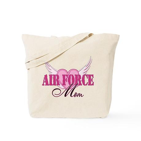 Air Force Mom Wings Tote Bag