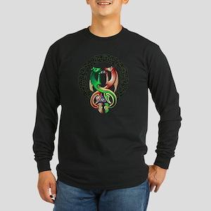 Kelpie-frame Long Sleeve Dark T-Shirt