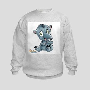 Baby Tapir Kids Sweatshirt