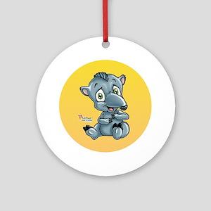 Baby Tapir Ornament (Round)