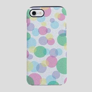 Colorful circles iPhone 7 Tough Case