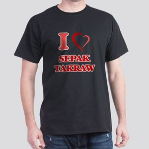 I Love Sepak Takraw T-Shirt