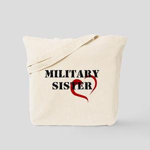Military Sister Tote Bag
