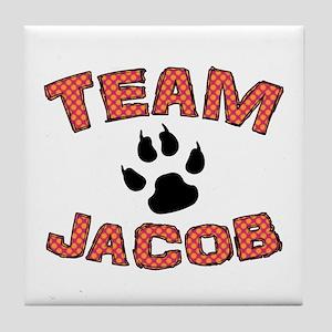 Twilight Team Jacob Tile Coaster