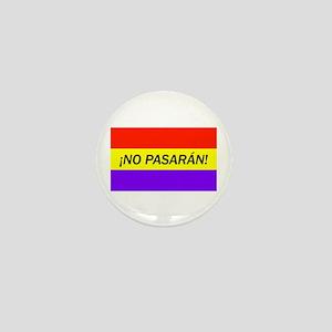 ¡No pasarán! Mini Button