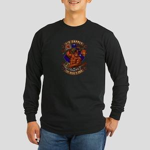 1/4 Supply (OO-RAH Art) Long Sleeve Dark T-Shirt