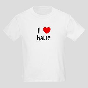 I LOVE HALIE Kids T-Shirt