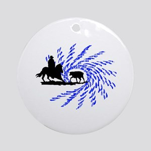 Cowhorses rule! Ornament (Round)