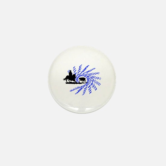 Cowhorses rule! Mini Button