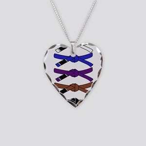 brazilian jiu jitsu T Shirt Necklace Heart Charm