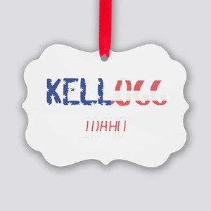 Kellogg Idaho Picture Ornament