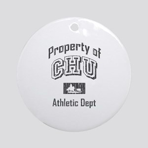 CHU Athletic Department Ornament (Round)