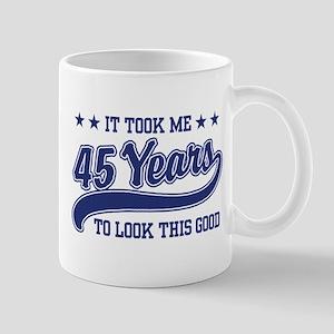 45th Birthday Mug