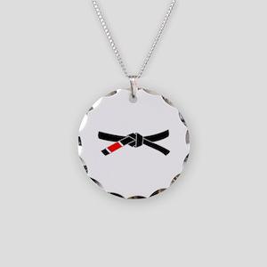 brazilian jiu jitsu T Shirt Necklace Circle Charm