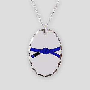 brazilian jiu jitsu T Shirt Necklace Oval Charm