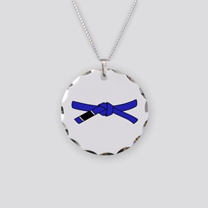 brazilian jiu jitsu T Shirt Necklace Circle Charm