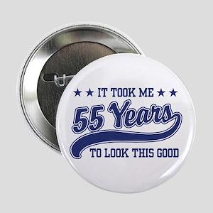 """55th Birthday 2.25"""" Button"""