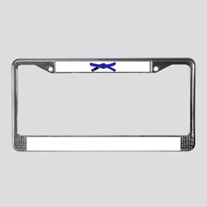 brazilian jiu jitsu T Shirt License Plate Frame