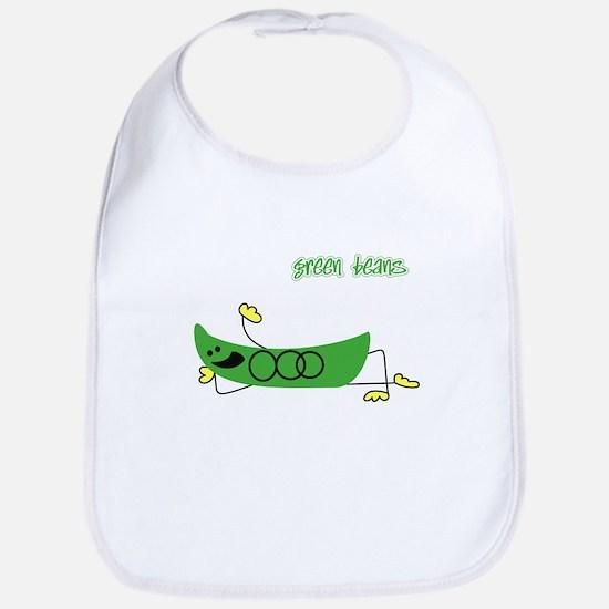 Green Beans Bib