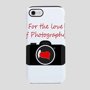 love camea iPhone 7 Tough Case