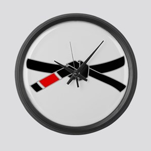 brazilian jiu jitsu T Shirt Large Wall Clock