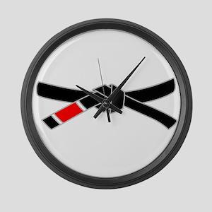 brazilian jiu jitsu T Shirt Large Wall Clock