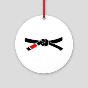 brazilian jiu jitsu T Shirt Round Ornament