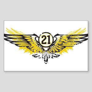 #21 Rectangle Sticker