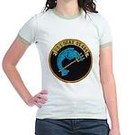 USS ODAX Jr. Ringer T-Shirt