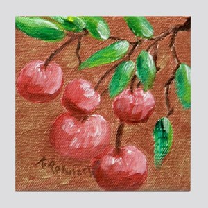 Cherries Tile Coaster