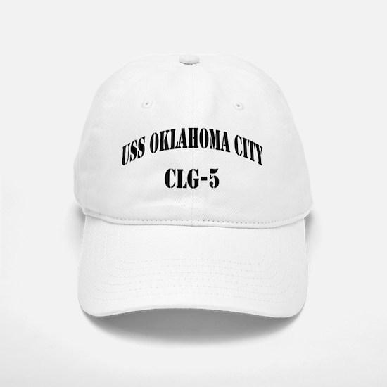 USS OKLAHOMA CITY Baseball Baseball Cap